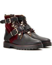 Burberry Brit - Utterback Leather Boots - Lyst
