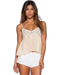 Free People Sweet Lace Cami - Lyst