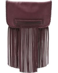 B-Low The Belt - Totem Clutch - Oxblood - Lyst