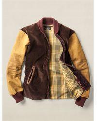 Ralph Lauren Cotton Varsity Jacket - Lyst