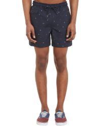 Rag & Bone - Men's Thomson Swim Trunks - Lyst