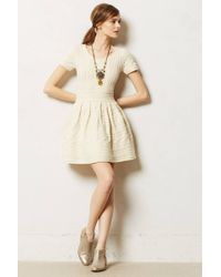 Anthropologie Cabled Sweater Dress - Lyst