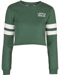 Topshop | Lincoln Embroidered Sweatshirt | Lyst