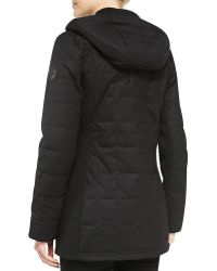 Canada Goose - Sable Quilted Zip Hoodie - Lyst