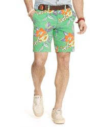 Polo Ralph Lauren Straight-Fit Floral Short - Lyst
