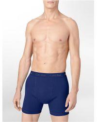 Calvin Klein Underwear Classics Big + Tall Boxer Brief - Lyst