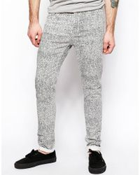Cheap Monday - Jeans Tight Skinny Fit In Fake Twill - Lyst