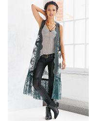 Kimchi Blue - Dita Maxi Vest - Lyst