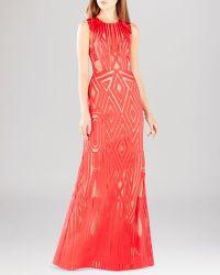 BCBGMAXAZRIA Gown - Viera Lace - Lyst