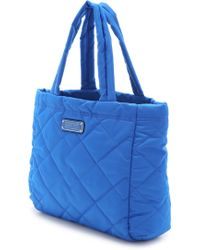 Marc By Marc Jacobs Crosby Quilt Nylon Small Tote - Salton Sea - Lyst
