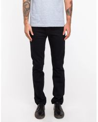 Levi's S 606 Black Overdye Jeans - Lyst