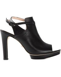 Repetto Ankle Strap Peep Toe Sandals black - Lyst
