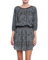 Love Sam Rania Printed Dress - Lyst