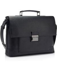 Calvin Klein White Label Clyde Briefcase black - Lyst