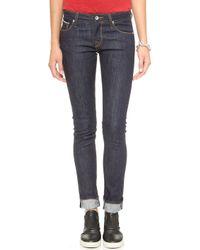 Baldwin Denim The Ten Skinny Jeans  Dry Selvage - Lyst