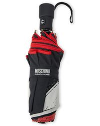 Moschino Contrast Printed Umbrella - Lyst