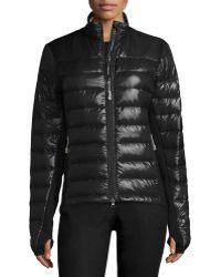 Canada Goose' Women's Fur-Trimmed Massey Parka-BLACK Size L
