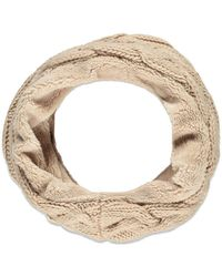 Forever 21 - Plushy Cable Knit Infinity Scarf - Lyst