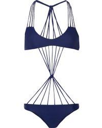 Mikoh Swimwear Seychelles String Swimsuit - Lyst