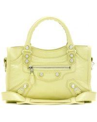 Balenciaga Giant Mini City Leather Shoulder Bag - Lyst