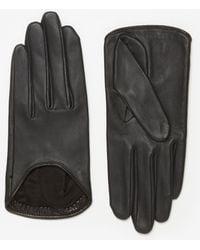 Rag & Bone Black Moto Glove - Lyst