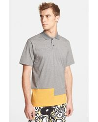 Marni Men'S Colorblock Polo - Lyst