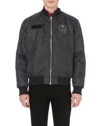 Givenchy Military Badge Bomber Jacket - Lyst