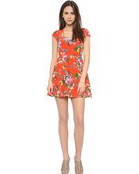 Yumi Kim Tammy Dress - Hot Lagoon - Lyst