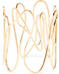 Repossi - 18k Rose Gold White Noise Bracelet - Lyst