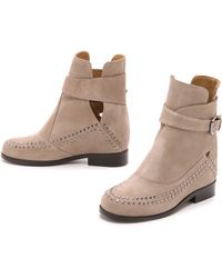 Thakoon Addition - Fiona 2 Suede Studded Booties - Lyst