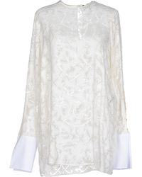 Just Cavalli Blouse white - Lyst