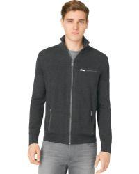 Calvin Klein Jeans Zip Sweater - Lyst