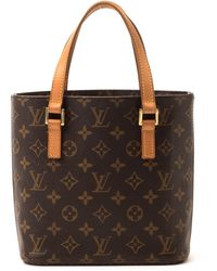 Louis Vuitton Brown Vavin Pm Tote - Lyst