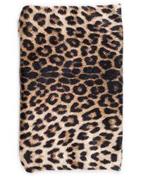 Joie - Emika Paris Velvet Leopard Clutch - Lyst