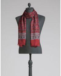Dolce & Gabbana   Printed Modal Cashmere Scarf   Lyst