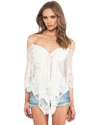 Jen's Pirate Booty Ethereal Butterfly Top - Lyst