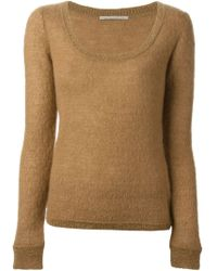 Ermanno Scervino Crew Neck Sweater - Lyst