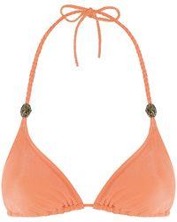 Lazul Nubia Triangle Bikini Top - Lyst