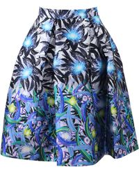 Peter Pilotto - Print Circle Skirt - Lyst