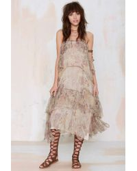Nasty Gal Mes Demoiselles Paloma Tiered Dress - Lyst