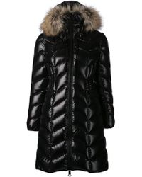Moncler Long Padded Jacket - Lyst
