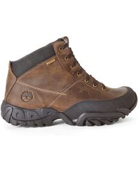 Timberland Dark Brown Earthkeepers Rolston Mid Waterproof Boots - Lyst