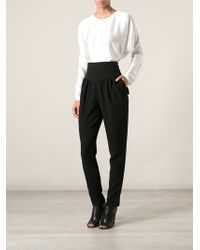 Chloé High Waist Trousers - Lyst