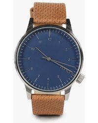 Komono Winston Watch blue - Lyst