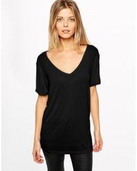 Asos Black Forever T-shirt - Lyst