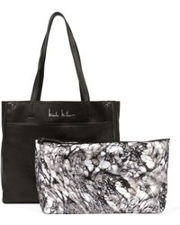Nicole Miller - Nicole Leather Tote - Lyst