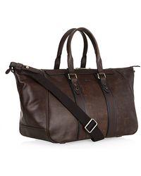 BOSS - Bontio Leather Weekend Bag - Lyst
