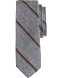 J.Crew English Woolsilk Tie in Thin Stripe - Lyst