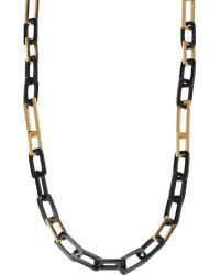 Maiyet - Long Rectangular-link Necklace - Lyst
