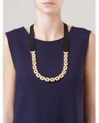 Osklen - Gold-tone Chain Necklace - Lyst